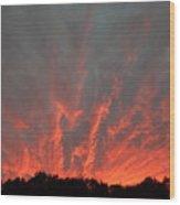 Clouds 64 Wood Print