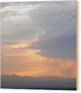 Clouds 7 Wood Print