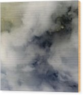 Clouds Before The Storm Wood Print