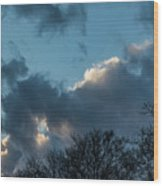 Clouds In Afternoon 20170326 7199 Wood Print