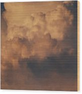 Clouds In Color Wood Print