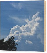 Clouds Of Art Wood Print