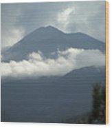 Clouds Of Sierra Wood Print
