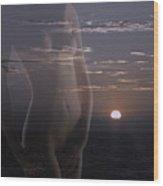 Clouds Off My Mind Wood Print by Viktor Savchenko