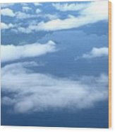 Clouds Over Costa Rica Wood Print
