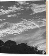 Clouds Over Florida Wood Print