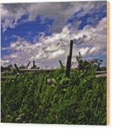 Clouds Over Gettysburg Wood Print