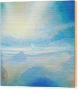 Cloud's Sea Wood Print
