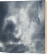 Clouds Seven Wood Print