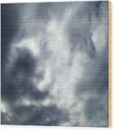 Clouds Seven Wood Print