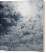 Heaven's Eye Wood Print