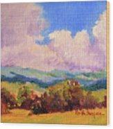 Cloudscape 2 Wood Print
