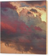 Cloudscape Sunset 46 Wood Print by James BO  Insogna