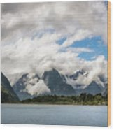 Cloudy With A Chance Of Beautiful Photo Wood Print