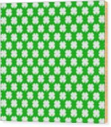 Clover Titled  - Pattern Wood Print