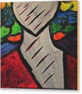Clowns Wood Print