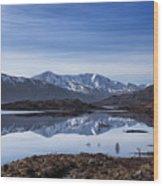 Cluanie Dam Wood Print