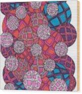 Cluster Of Spheres Wood Print