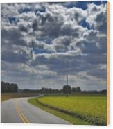 Clyde Fitzgerald Road Scenery Wood Print
