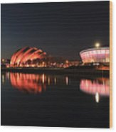 Clyde Twilight Reflections Wood Print