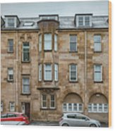 Clydebank Former Fire Station Building Wood Print