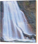 Coal Creek Falls Wood Print