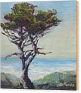 Coast Cypress Wood Print