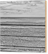 Coast - Horizon Lines Wood Print
