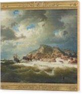 coast of Bohuslan Wood Print