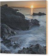 Coast Of Grace Wood Print