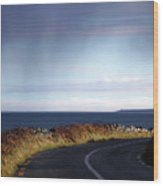 Coast Road  The Burren Wood Print