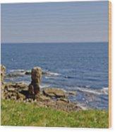 Coast. Seascape 3. Wood Print