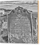 Coast - Whitby Freemason Grave Wood Print