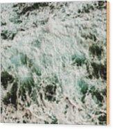 Coastal Calamity Wood Print