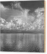 Coastal Clouds 2 Wood Print