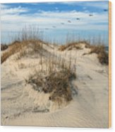 Coastal Formation Wood Print