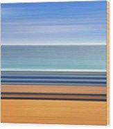 Coastal Horizon 1 Wood Print