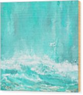 Coastal Inspired Art Wood Print