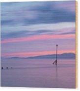 Coastal Kaleidoscope Wood Print