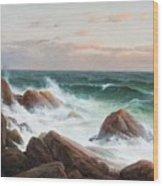 Coastal Landscape. Wood Print