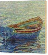 Coastal Lullaby Wood Print