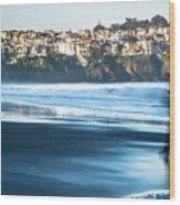 Coastal Scenes At Usa Pacific Coast Wood Print
