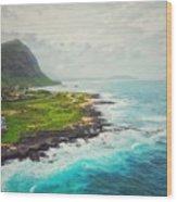Coastal Views Wood Print