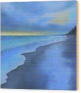 Coastal Walk Vi Wood Print