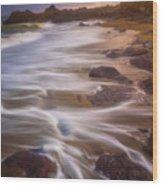 Coastal Whispers Wood Print