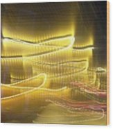 Coaster Of Lights Two Wood Print