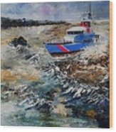Coastguards Wood Print