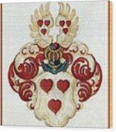 Coat Of Arms. Wood Print