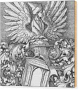 Coat Of Arms Of The House Of Dbcrer 1523 Wood Print