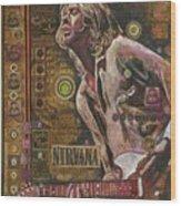 Cobain Wood Print